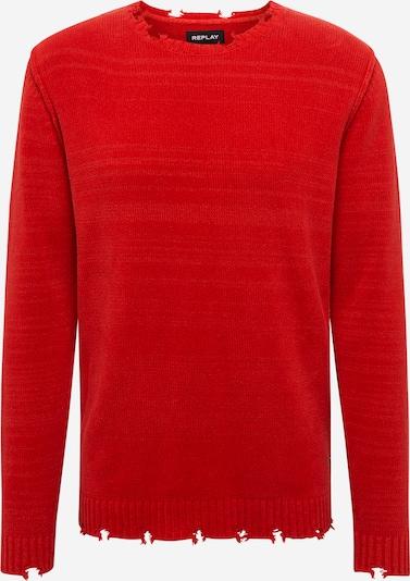 REPLAY Sweter 'Masche' w kolorze ognisto-czerwonym, Podgląd produktu