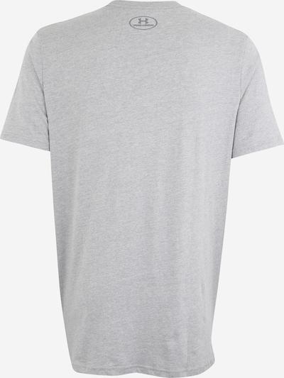 UNDER ARMOUR Sport-Shirt in grau / schwarz: Rückansicht
