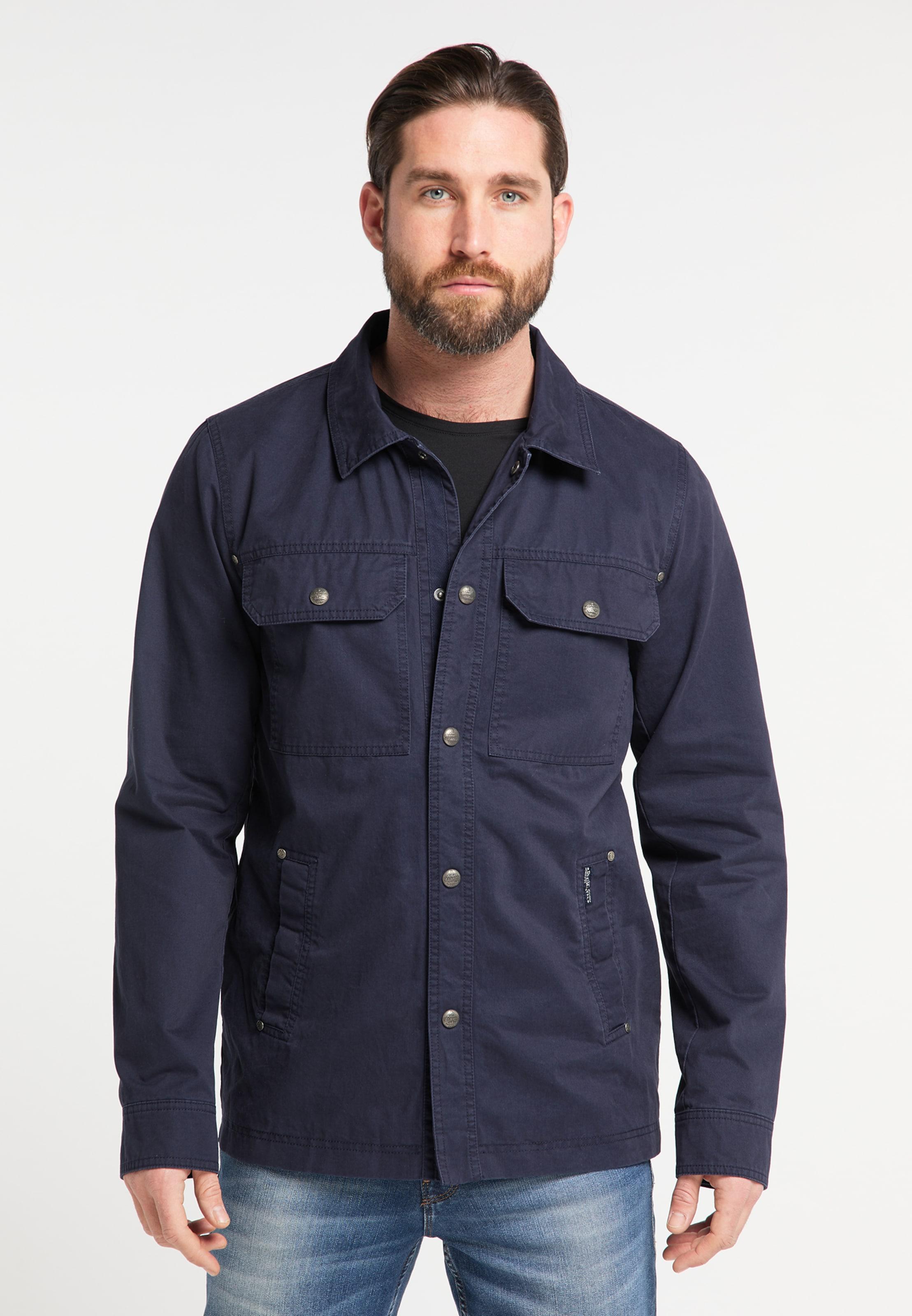DREIMASTER Jacke in nachtblau Unifarben 4251686656111