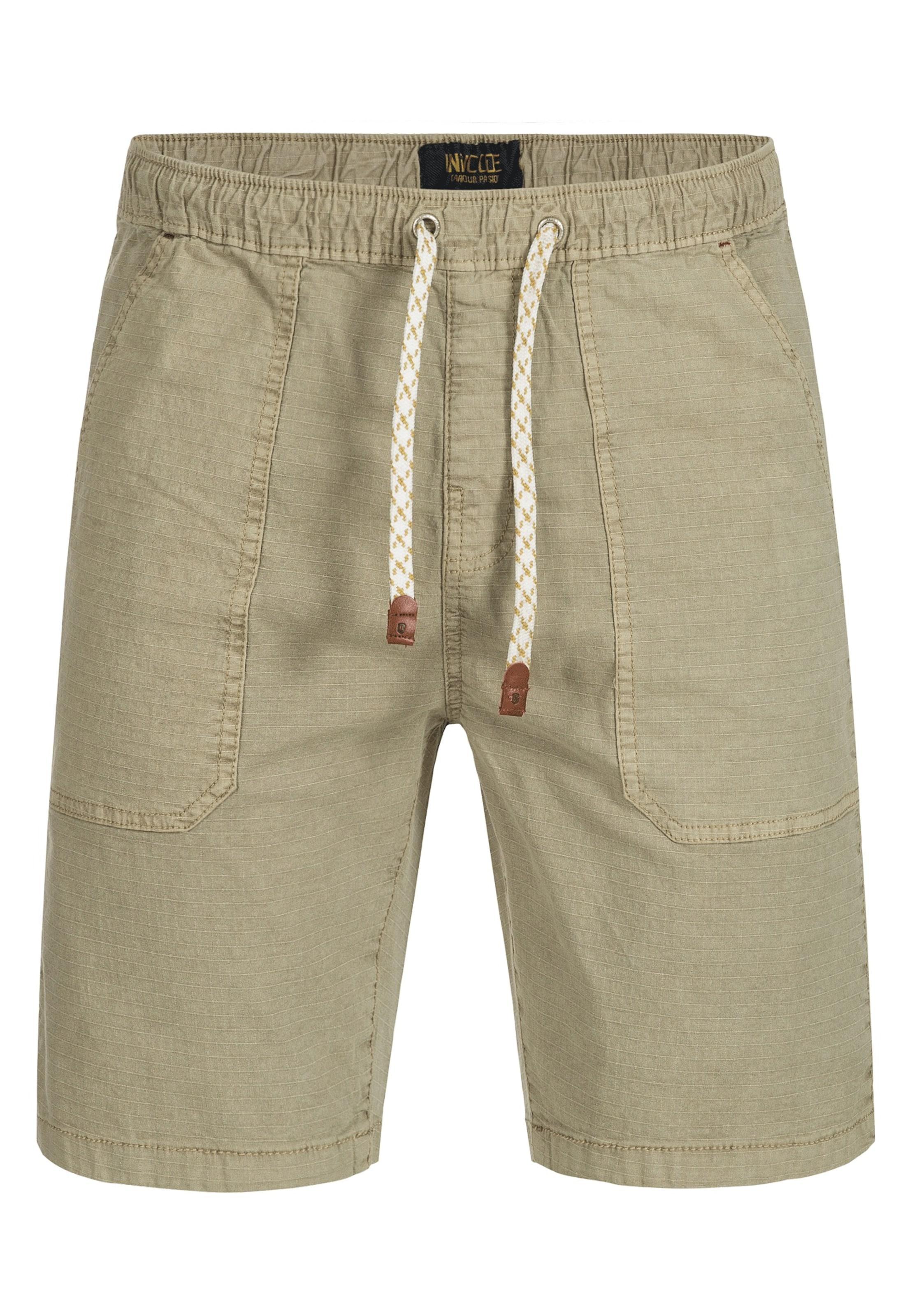 Jeans Indicode Pantalon 'stoufville' Foncé En Beige zMUVpS