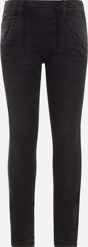 NAME IT Jeans 'NKMROBIN DNMTOM' in de kleur Black denim, Productweergave