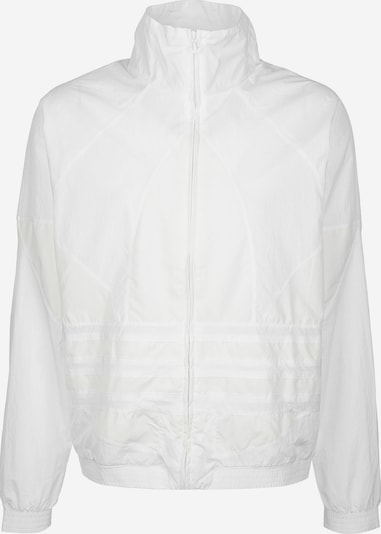 ADIDAS ORIGINALS Trainingsjacke 'Big Trefoil' in weiß: Frontalansicht