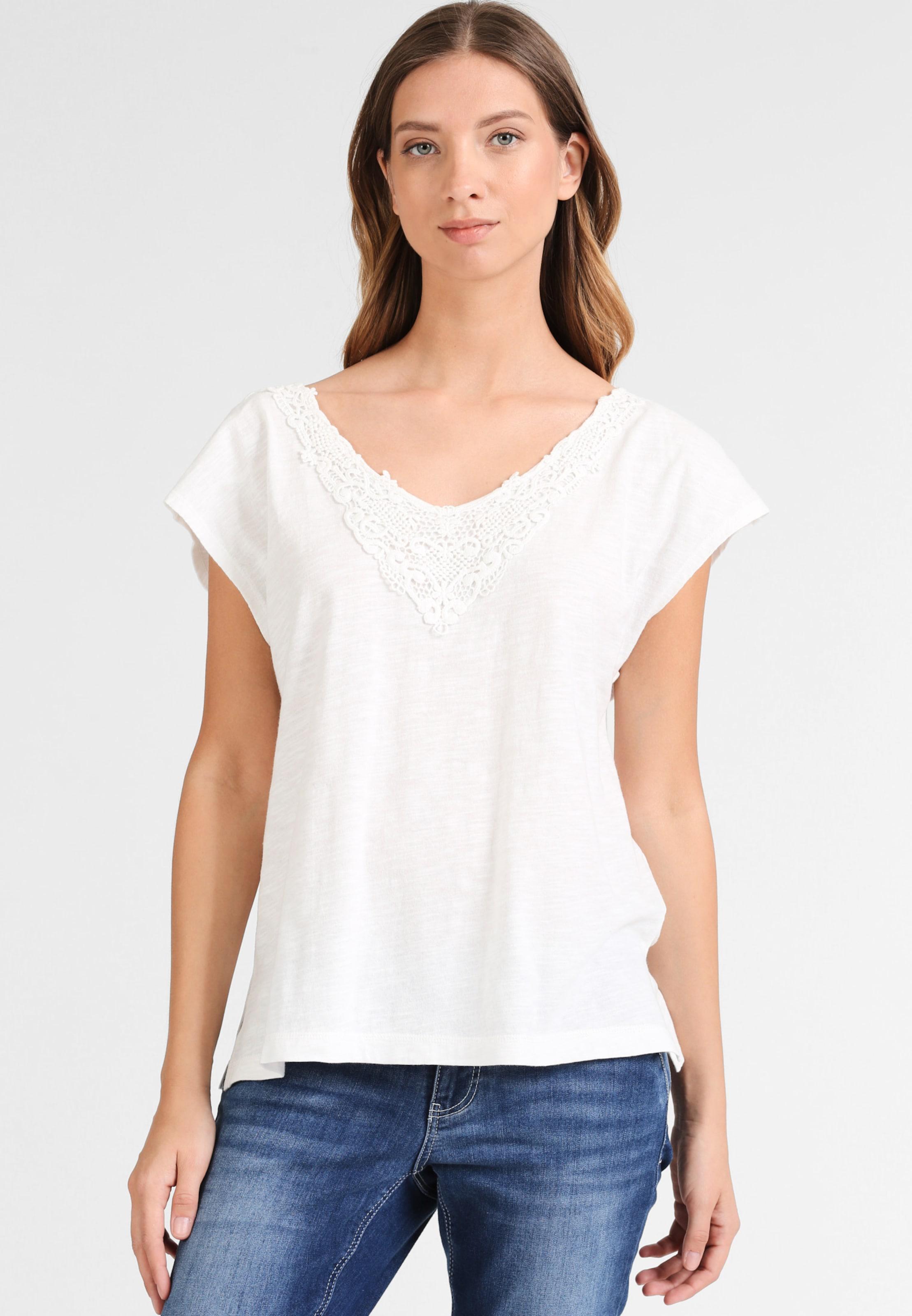 T shirt En Chiné Dreimaster Blanc v8yNm0nwO