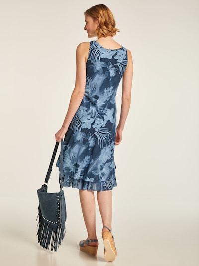 heine Sukienka w kolorze podpalany niebieski / ciemny niebieskim: Widok od tyłu