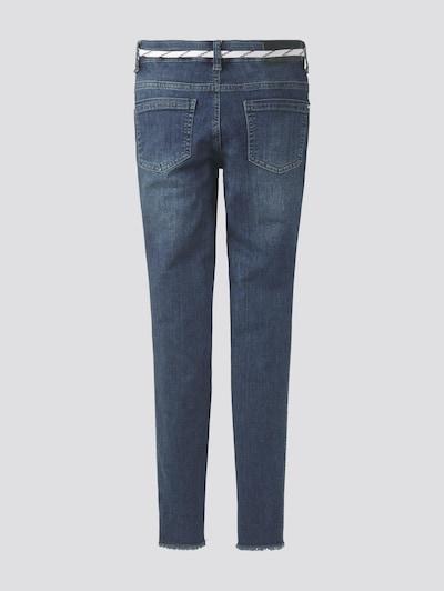TOM TAILOR Jeanshosen Lissie Jeans mit Schnürsenkel-Gürtel in blau, Produktansicht