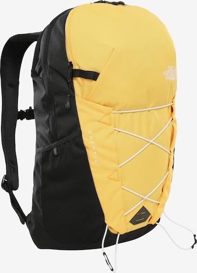 THE NORTH FACE Rucksack 'Jestorealis' in gelb / schwarz, Produktansicht