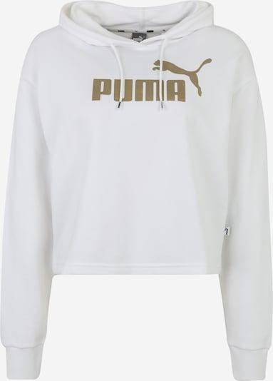 PUMA Športová mikina - zlatá / biela, Produkt