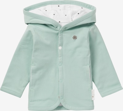 Noppies Strickjacke 'Nusco' in mint / weiß, Produktansicht