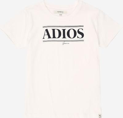 GARCIA T-Shirt in schwarz / weiß: Frontalansicht