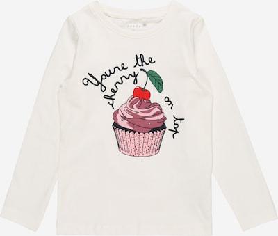NAME IT Majica | mešane barve / bela barva, Prikaz izdelka