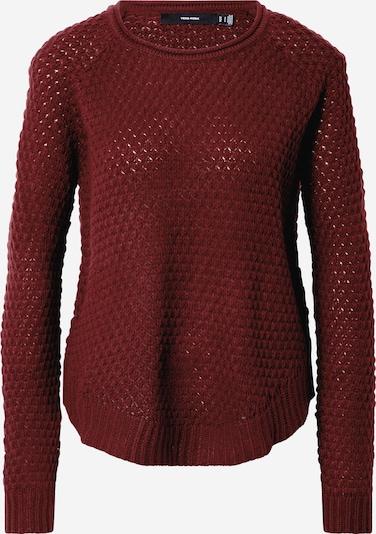 VERO MODA Pullover 'ESME' in burgunder, Produktansicht