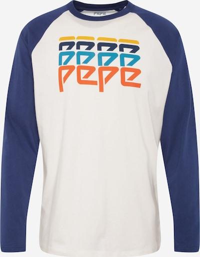 Pepe Jeans Shirt 'TRAVIS' in dunkelblau / offwhite, Produktansicht