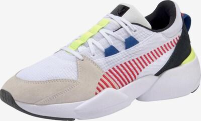 PUMA Sneaker 'Zeta Suede' in hellbeige / gelb / schwarz / weiß, Produktansicht