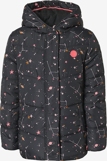 TUMBLE N' DRY Jacke 'Kacee' in goldgelb / anthrazit / pink / hellpink, Produktansicht