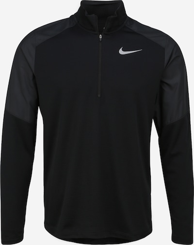 Tricou funcțional NIKE pe gri metalic / negru, Vizualizare produs
