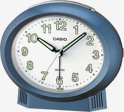 CASIO Uhr in rauchblau / pastellgrün / schwarz / weiß, Produktansicht