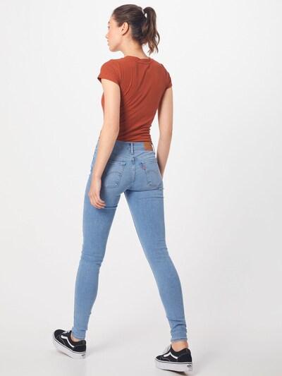 LEVI'S Jean '710 INNOVATION SUPER SKINNY' en bleu denim: Vue de dos