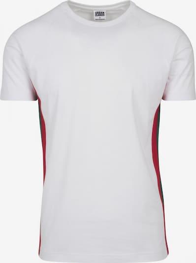Urban Classics Bluser & t-shirts i grøn / rød / offwhite, Produktvisning