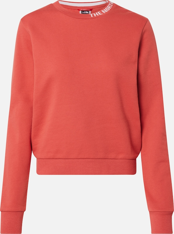 THE NORTH FACE Sweatshirt in rot, Produktansicht