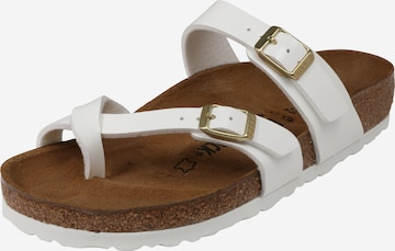 BIRKENSTOCK T-Bar Sandals 'Mayari' in White