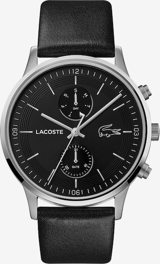 LACOSTE Analog Watch in Black / Silver, Item view
