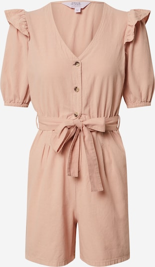 Miss Selfridge (Petite) Jumpsuit 'PEACH FRILL' in pfirsich, Produktansicht