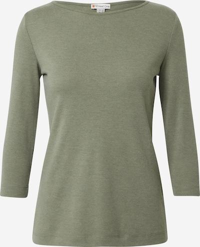 STREET ONE Shirt in khaki, Produktansicht