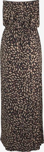LASCANA Bandeau-Maxikleid in beige / braun, Produktansicht