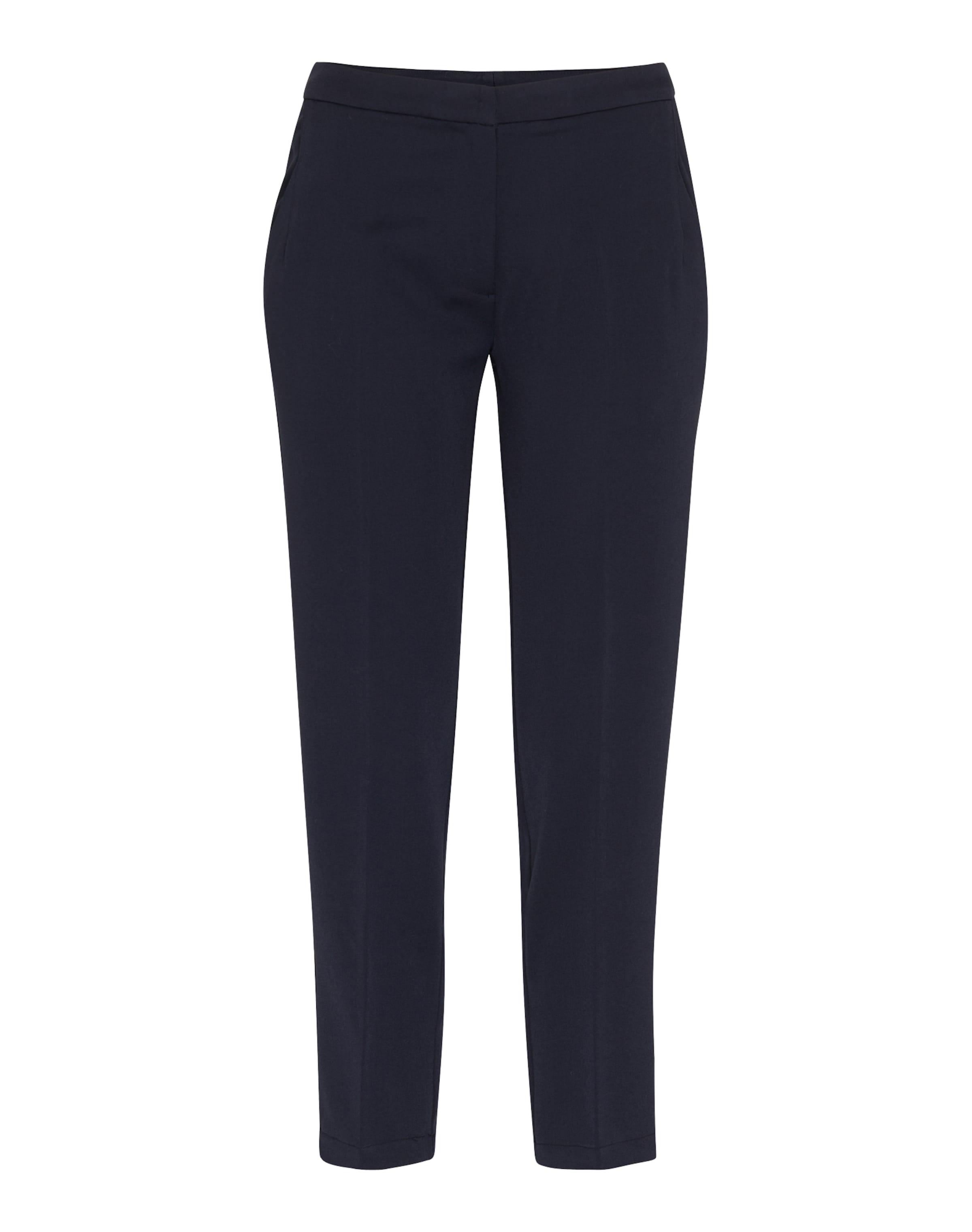 À Bleu Marine Pantalon 'halle' Minimum En Pince qMSUpzV