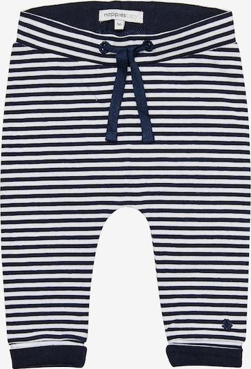 Noppies Stoffhose 'Nola' in navy / weiß, Produktansicht