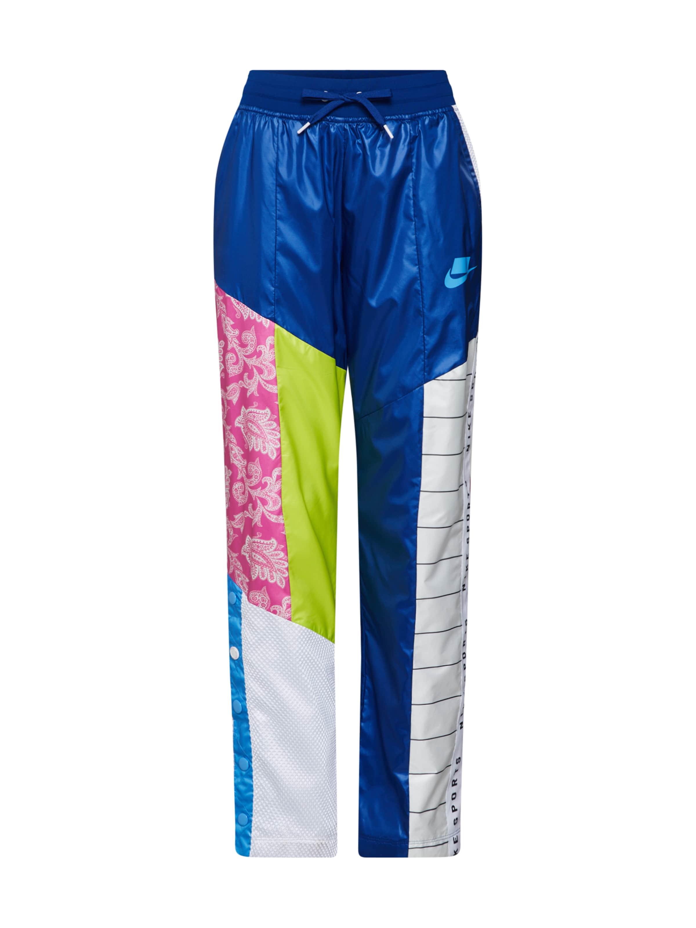 Couleurs BleuMélange Pantalon Nike Blanc Sportswear En De cK1JlF