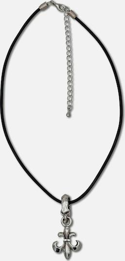 J. Jayz Kette in grau / schwarz: Frontalansicht