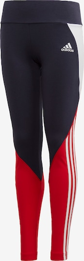ADIDAS PERFORMANCE Trainingstight  'Bold' in navy / rot / weiß, Produktansicht