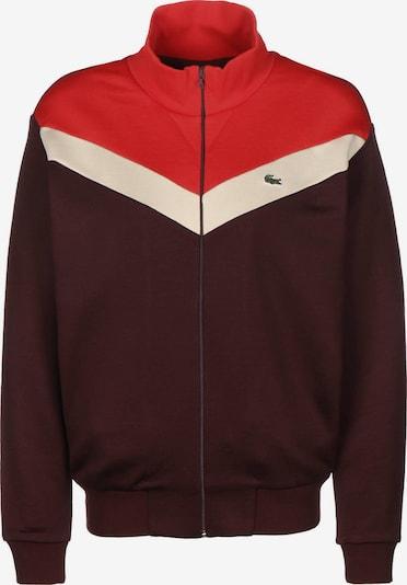 LACOSTE Trainingsjacke 'Sportswear' in rot, Produktansicht