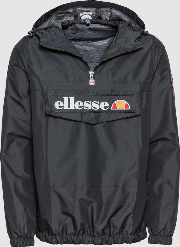 ELLESSE Jacke  'Mont2' in anthrazit   koralle   hellOrange   weiß  Mode neue Kleidung