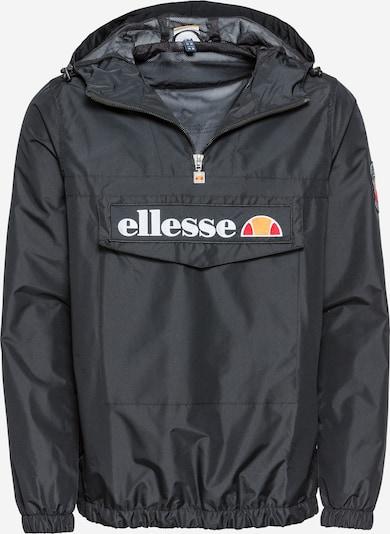 ELLESSE Kurtka przejściowa w kolorze antracytowy / koralowy / jasnopomarańczowy / białym, Podgląd produktu