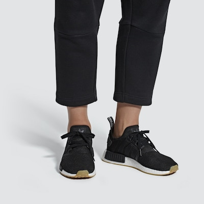 ADIDAS ORIGINALS Sneaker in schwarz / weiß: Frontalansicht