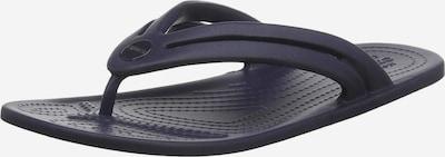Crocs Séparateur d'orteils en marine, Vue avec produit