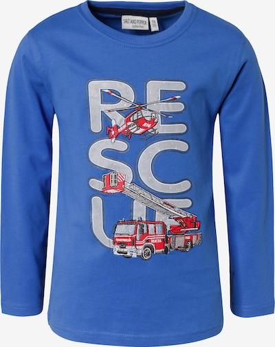 SALT AND PEPPER Shirt in royalblau, Produktansicht