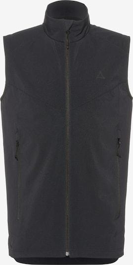 Schöffel Outdoorweste 'Tirol' in schwarz, Produktansicht