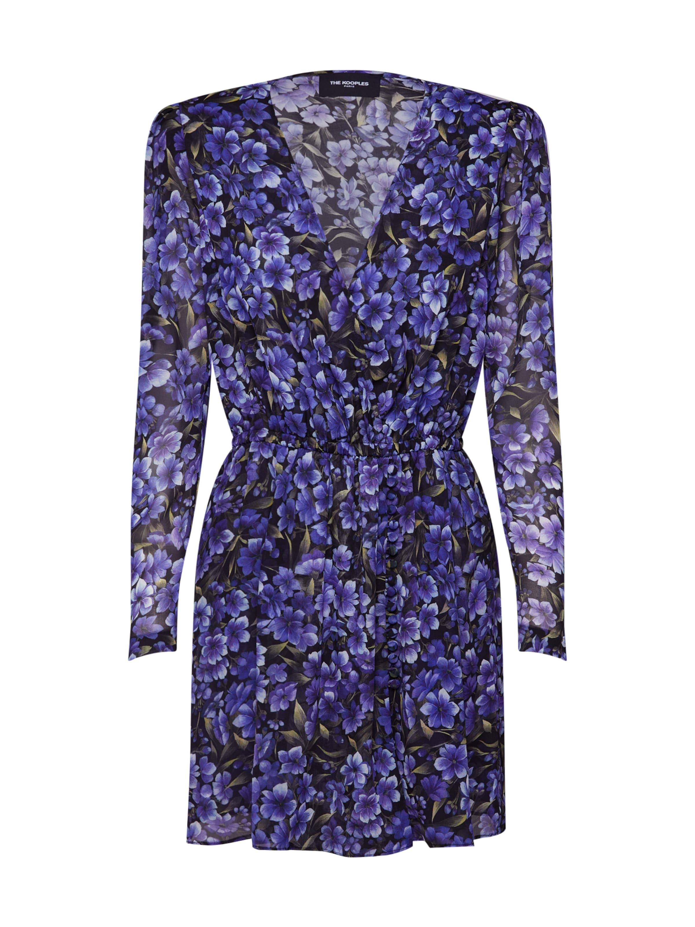 Robe 'frob18026k' FoncéNoir Violet The En Kooples q5RL34Aj