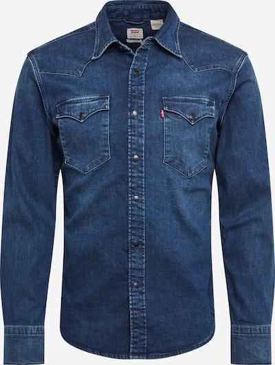 LEVI'S Hemd 'BARSTOW WESTERN SLIM' in blue denim, Produktansicht