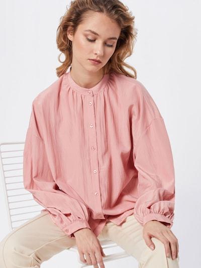 VILA Bluzka 'VIPADDY L/S SHIRT' w kolorze różowy pudrowym, Podgląd na modelu(-ce)