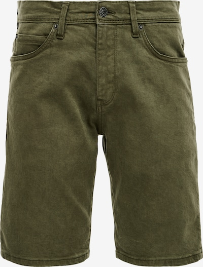 Q/S designed by Shorts in khaki: Frontalansicht