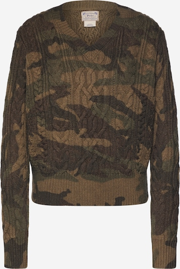 POLO RALPH LAUREN Pullover in khaki, Produktansicht