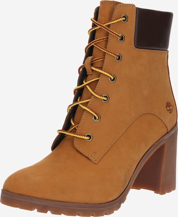 TIMBERLAND Lace-Up Ankle Boots 'Allington' in Brown