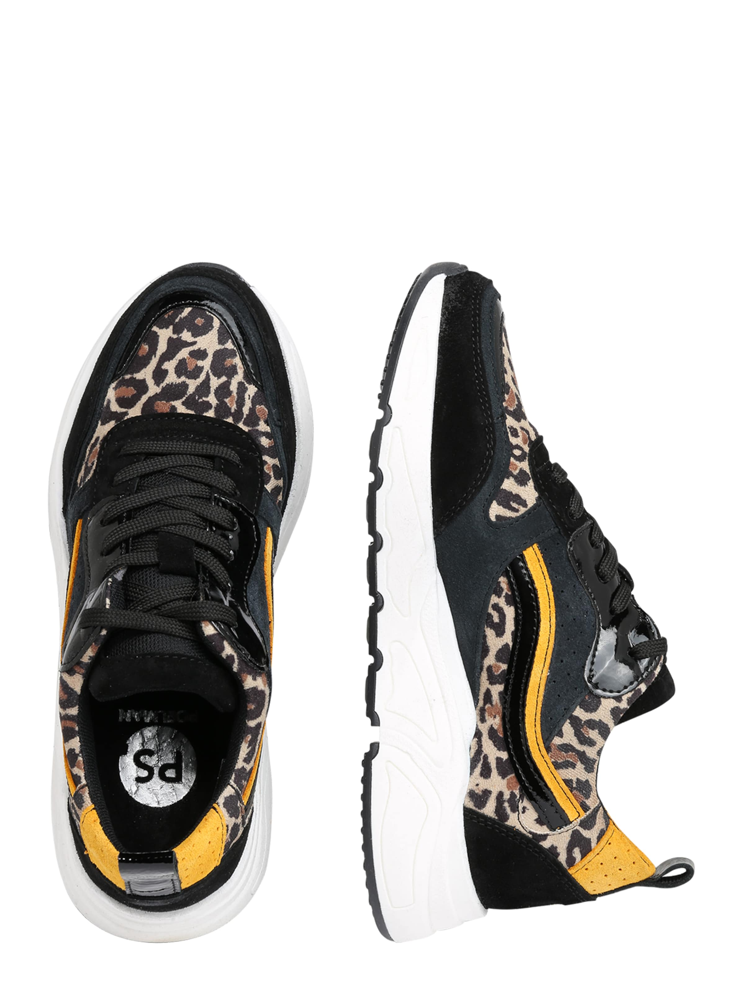 In Ps Poelman '5614' Sneaker MischfarbenSchwarz htsQrdCx