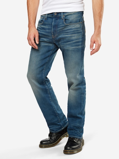 G-Star RAW Jeans '3301' in blue denim, Modelansicht