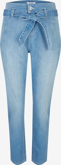 Angels Hose ,Gwen' mit Bindegürtel in blau, Produktansicht