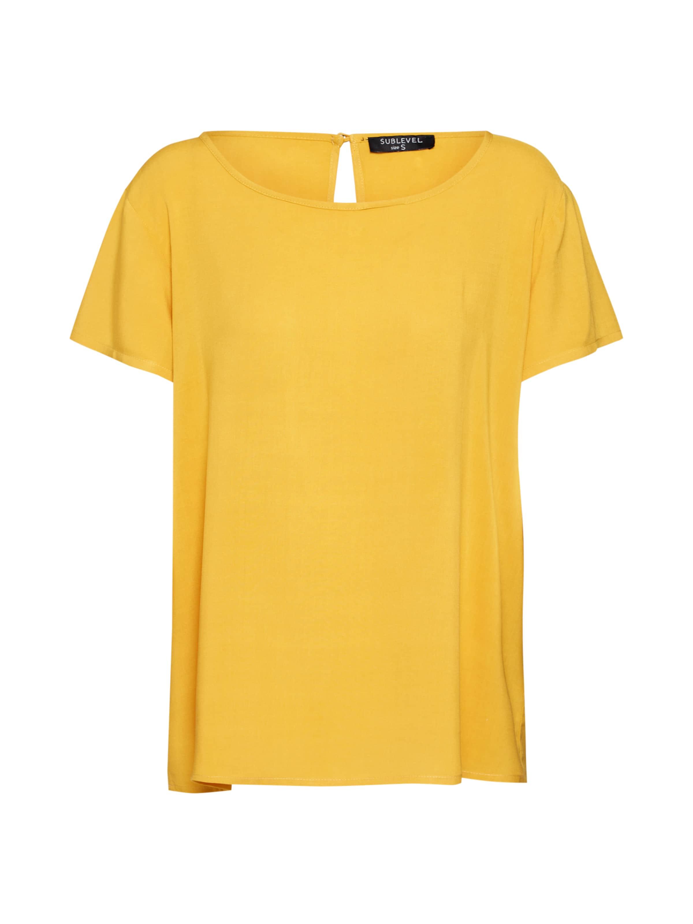 shirt Sublevel T 'd73760m10953b' Jaune En c54jq3ALR